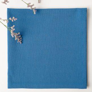 Servilleta lisa azul añil
